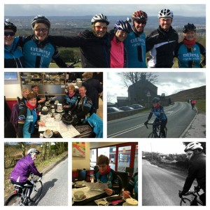 Hills, Maps, Coffees and Smiles on Ruth's Stretching Ride