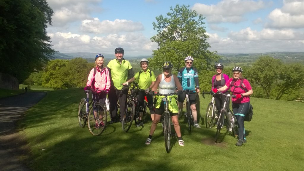 The team who are now all over the hill in Harewood.