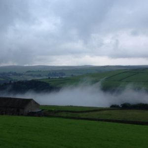 Above Hebden Bridge on t'way 'ome