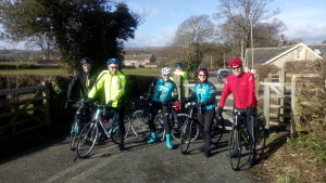 Smiles and sunshine on Christine's Gentle Easter Sunday Ride