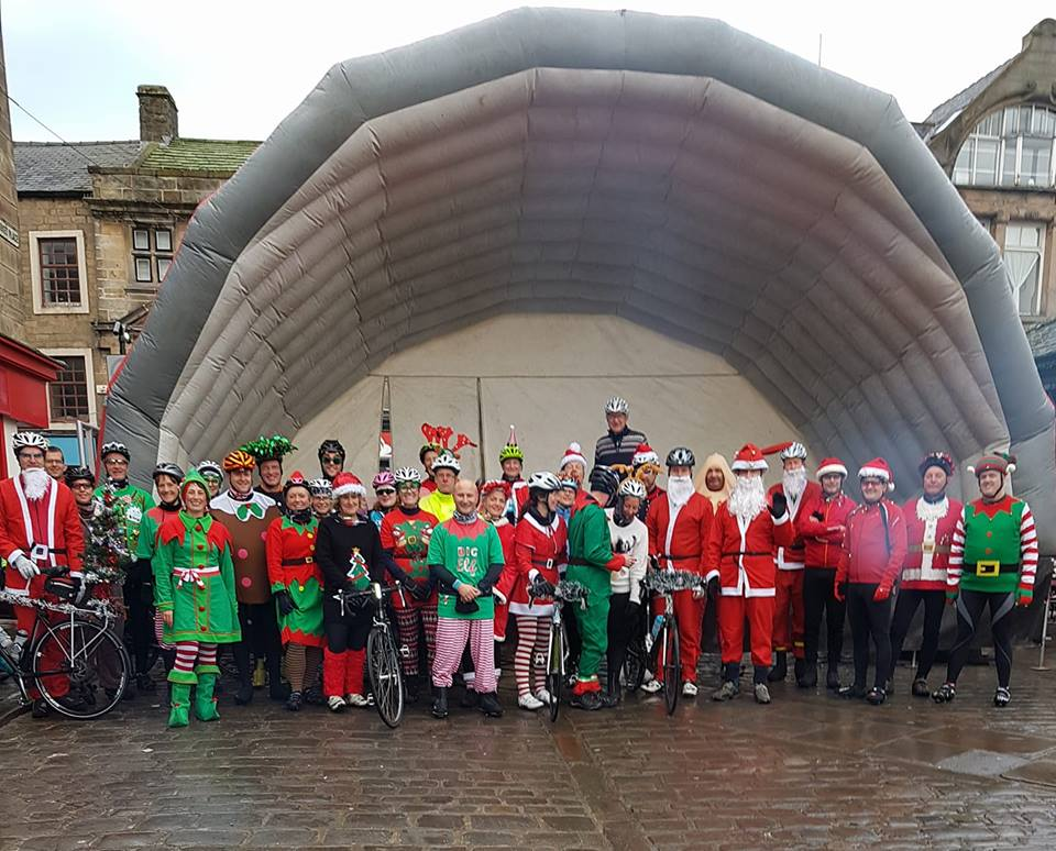 Otley CC does Christmas in style